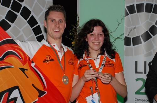 Calibris ZorgToppers 2010 winnen zilveren medaille in Lissabon