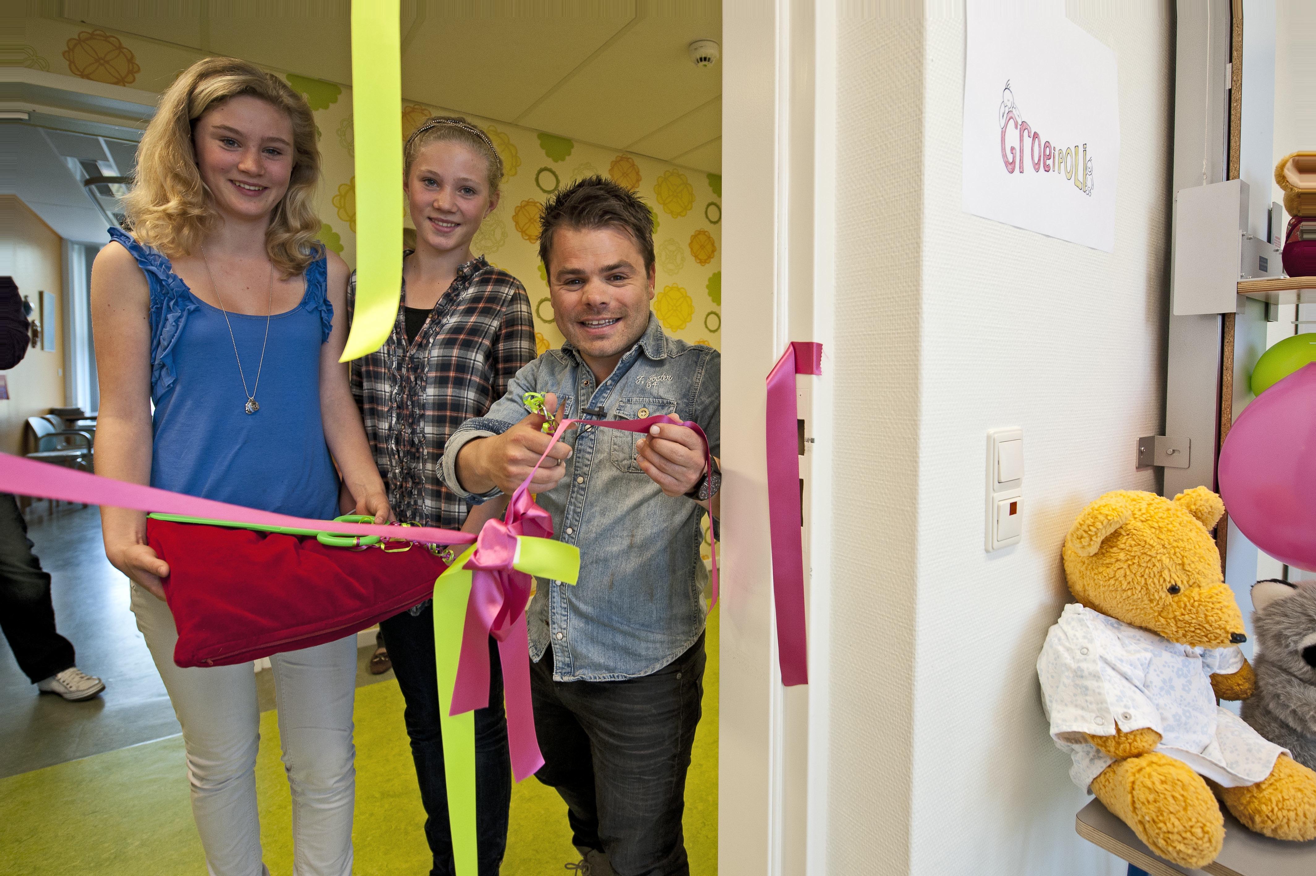 Roel Van Velzen Opent Groeipolikliniek In Tergooi Gezondheidskrant