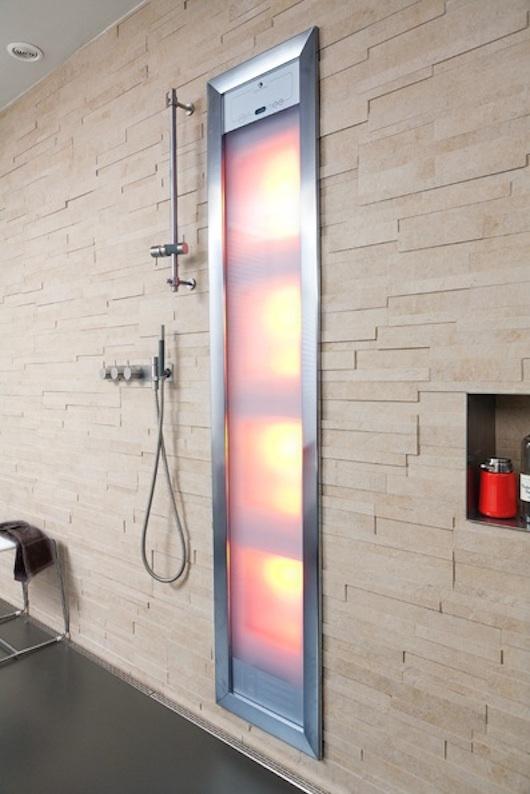 Zonnebank onder de douche | Gezondheidskrant