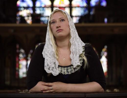 Catherine, Kruispunt TV, Jonge nonnen