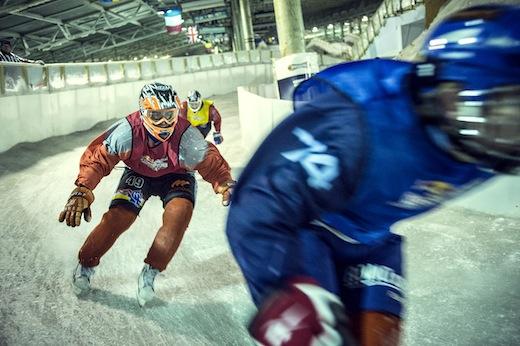 Nederlandse kampioenschappen Ice Cross Downhill 2013 - 01