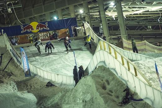 Nederlandse kampioenschappen Ice Cross Downhill 2013 - 02