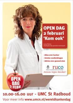 Open dag over kanker in het UMC St Radboud