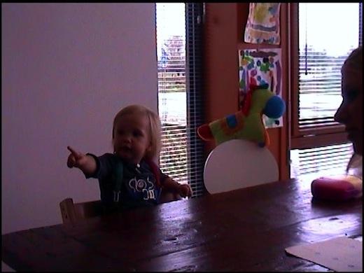 Sociale baby leert sneller taal, figuur 2