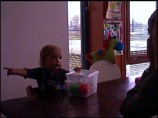 Sociale baby leert sneller taal, figuur 3