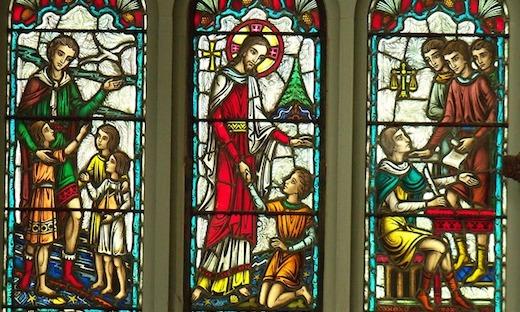 Kerk, Glas in lood