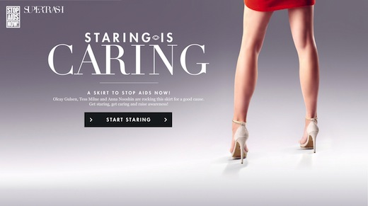 Staring is Caring, Stop Aids Now