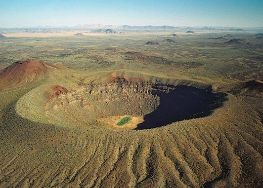 Natuurgebieden El Pinacate en Gran Desierto de Altar in Mexico