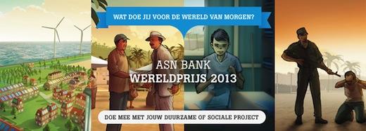 ASN Bank Wereldprijs 2013