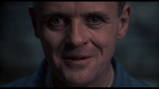 Anthony Hopkins, Hannibal Lecter, The Silence of the Lambs