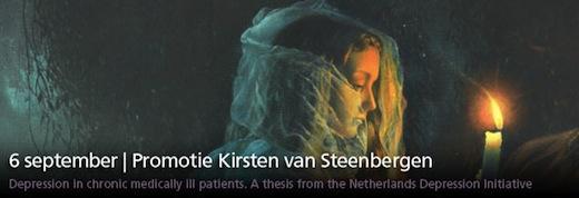 Promotie Kirsten van Steenbergen
