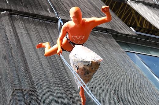 Spectaculaire actie Plastic Heroes in Enschede, Fotograaf Richard Hofste