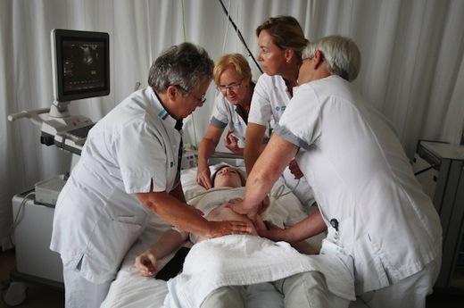 Versie-team in het Catharina Ziekenhuis in Eindhoven