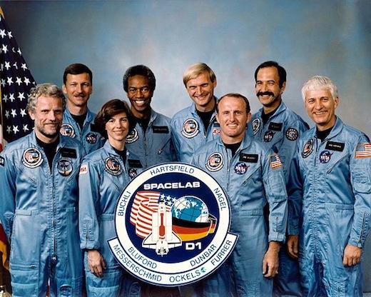 Wubbo Ockels, STS 61 A crew