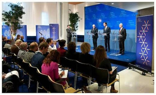 Persconferentie Nuclear Security Summit 2014