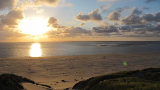Waddeneilanden, Noordsvaarder, Terschelling, zonsondergang