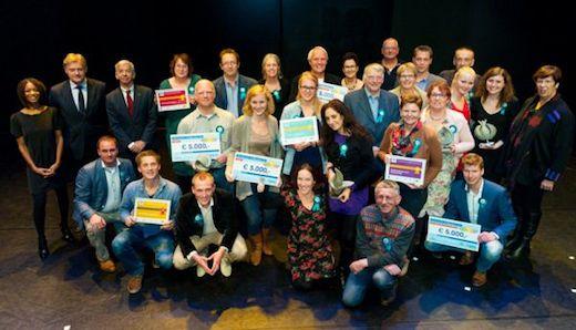 Winnaars Meer dan handen vrijwilligersprijzen 2013
