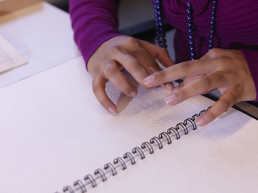 Braille lezen