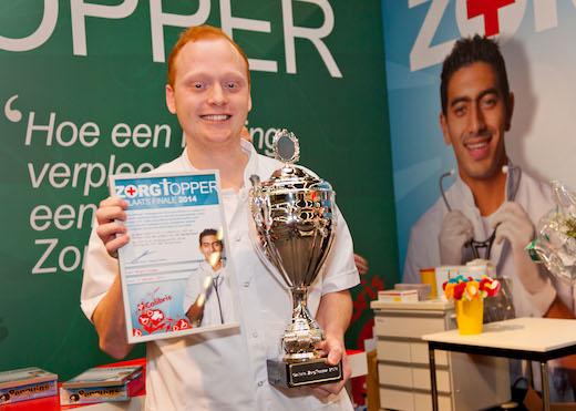Bryan Visser wint Nederlands Kampioenschap Verpleegkunde