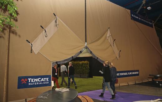 TenCate levert grootste tent ter wereld tijdens Vakantiebeurs 3