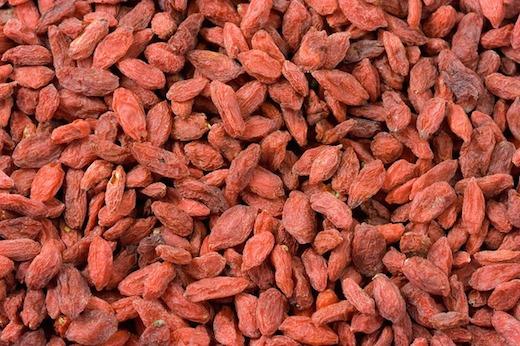 Gedroogde bessen, antioxidant