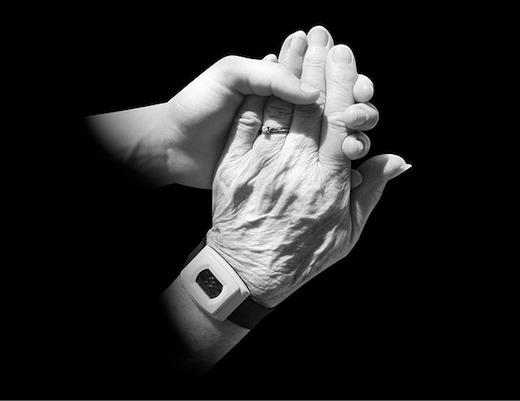 Jonge hand, oude hand, zorg