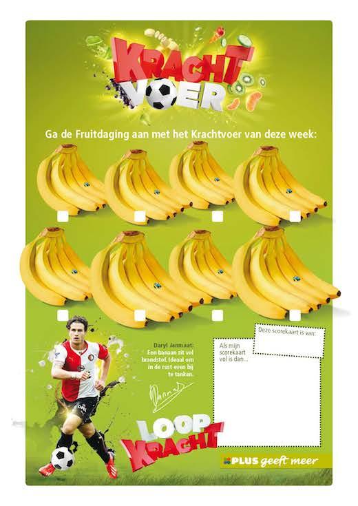 Scorekaart Fruitdaging