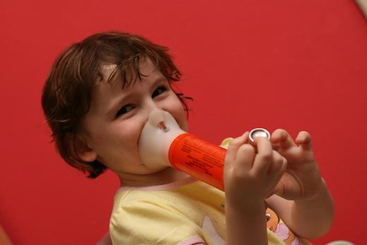 Astma, kind