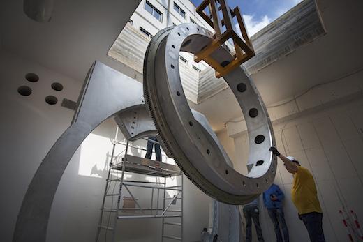 Installatie MR-LINAC testsysteem, UMC Utrecht, 01