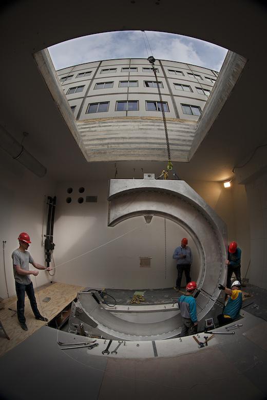 Installatie MR-LINAC testsysteem, UMC Utrecht, 02