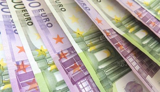 euro, bankbiljet, 50, 100