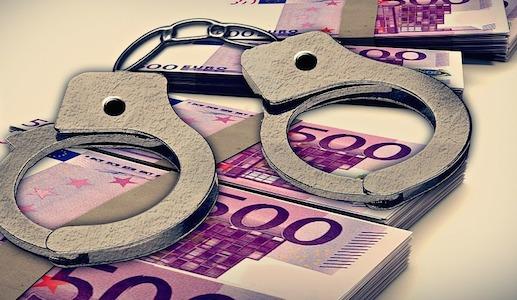 Handboeien, geld