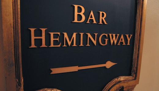 Hotel Ritz Parijs Bar Hemingway