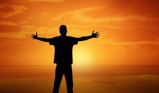 Man Vreugde Zon