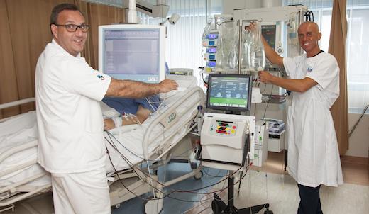 Michael Frank, Winnie, IC, dialyse, apparaat, nieuw, alles gaat vanzelf