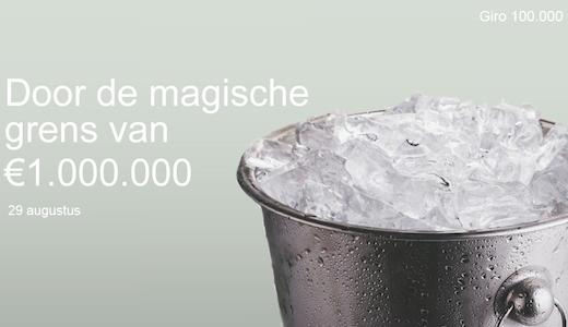 ALS Ice Bucket Challenge Nederland 1 miljoen euro