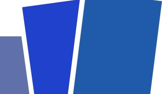 Blauwe kaaart