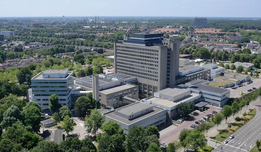 Catharina Ziekenhuis Eindhoven Luchtfoto