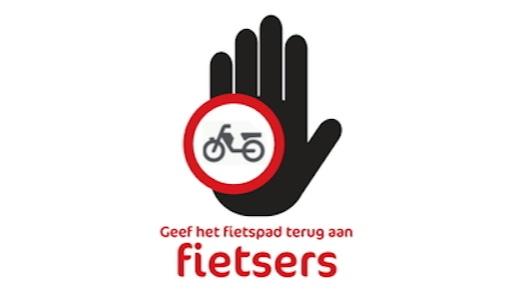 Geef het fietspad terug aan fietsers