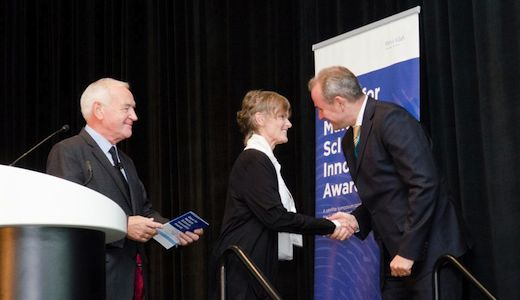 Uitreiking GMSI Award 2014