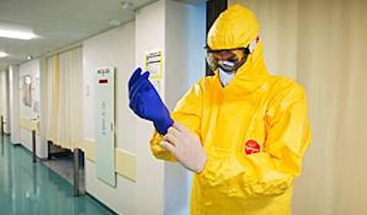 ebola werkkleding