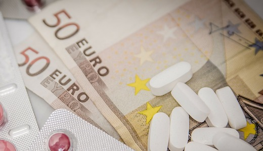 Geld, medicijnen