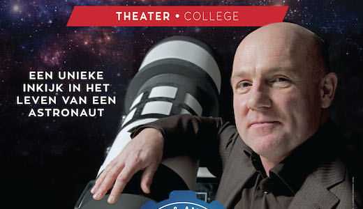André Kuipers Theatercollege