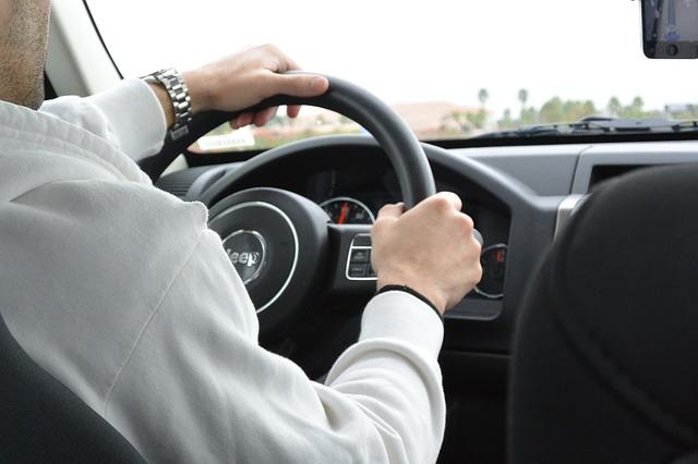 Autorijden stuur