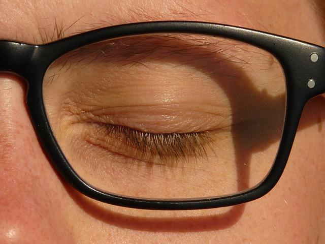 oog, bril