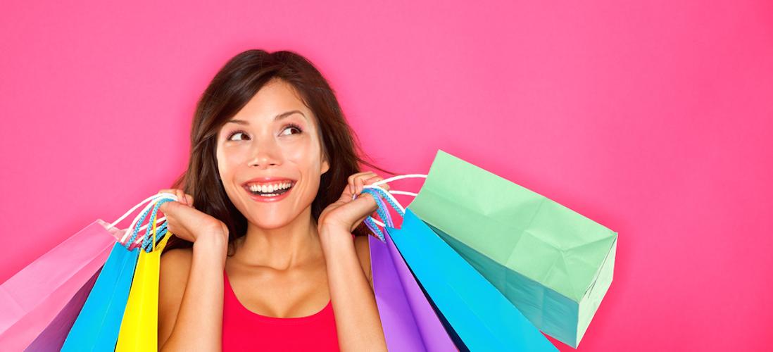 shoppen is gezond