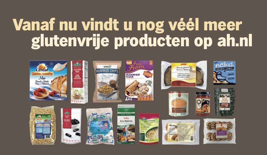 AH.nl glutenvrije producten