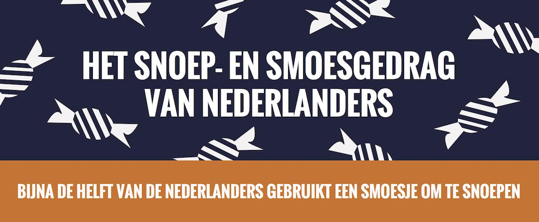 Het snoep- en smoesgedrag van Nederlanders