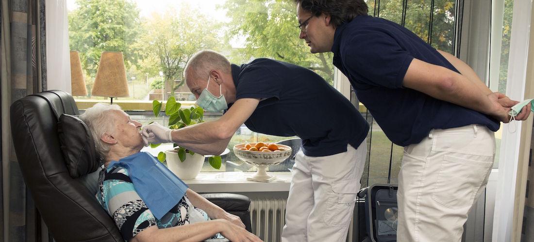Mondzorg bij ouderen