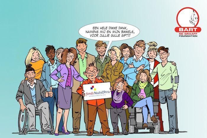 Fonds NutsOhra steunt de Bikkels van Bart